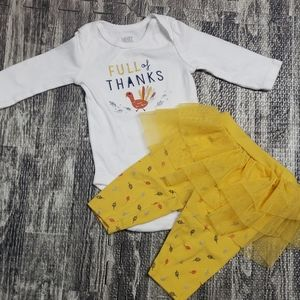 """2-PIECE """"FULL OF THANKS"""" OUTFIT"""